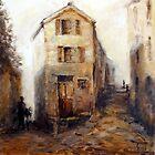 Street scene of Italy by Ivana Pinaffo