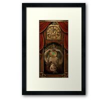 The Timekeeper's Daughter Framed Print
