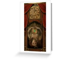 The Timekeeper's Daughter Greeting Card