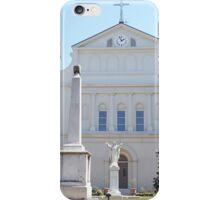 St. Louis Cathedral Back Lawn iPhone Case/Skin