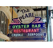 Pearl Oyster Bar  Photographic Print