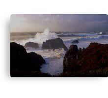 Pacific Storm Aftermath Canvas Print