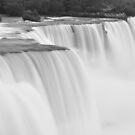 Niagara Falls in Black and White by Jill Vadala