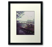 Rain-washed Scenery #17 Framed Print