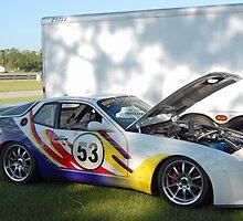 Techni-Color Porsche by Steve Mezardjian