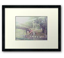 Rain-washed Scenery #18 Framed Print