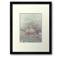 Rain-washed Scenery #19 Framed Print