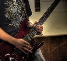 Guitar Player (HDR) by AnthonyWilson
