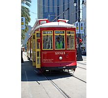 Canal Street Cable Car Photographic Print