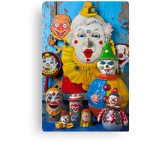 Clown toys Canvas Print