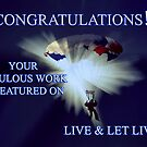 Feature Banner for Live & Let Live by Eve Parry