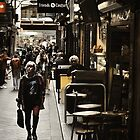Streets of Melbourne 6 by Trish Woodford