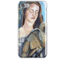 The Girl & the Gargoyle iPhone Case/Skin