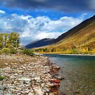 Glacier Park Autumn 3 (The Northfork) by rocamiadesign