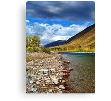 Glacier Park Autumn 3 (The Northfork) Canvas Print