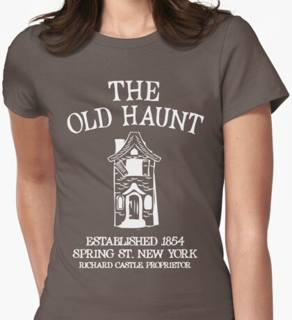 CASTLE'S BAR THE OLD HAUNT Womens Fitted T-Shirt