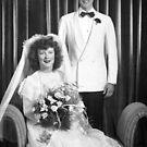 Wedding Day, 1948 by Debbie Robbins