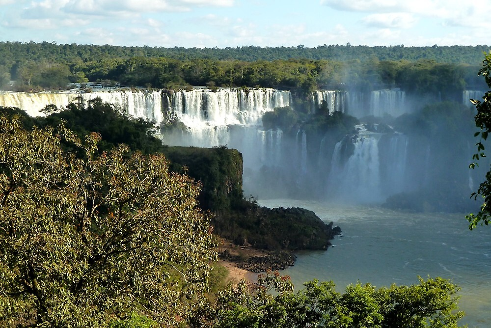 Iguassu waterfalls by supergold