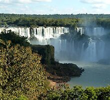 Iguassu waterfalls by supergold