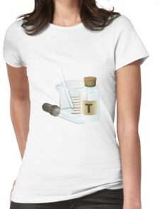 All You Need is Chemistry Womens Fitted T-Shirt