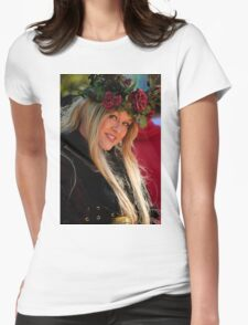 Crowned By Nature Womens Fitted T-Shirt
