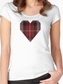 00843 West Coast Woven Mills Fashion Tartan #759-2 Women's Fitted Scoop T-Shirt