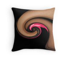 Pink Panties and Nylons Throw Pillow