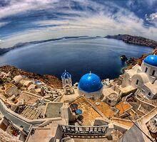 Santorini by Pawel Tomaszewicz