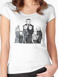 Spooky Plushie Family Women's Fitted Scoop T-Shirt