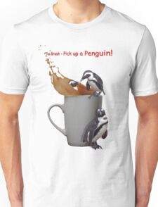 Tea Break - Pick up a Penguin! Unisex T-Shirt