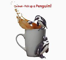 Tea Break - Pick up a Penguin! Unisex T-Shirt
