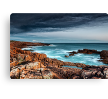 Boat Harbour rugged coast Canvas Print