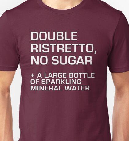 Double Ristretto, No Sugar T-Shirt