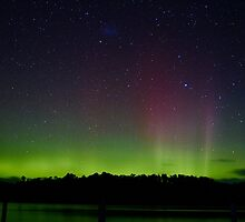 Aurora Australis (#2), Trial Bay, Tasmania, 19 March 2015 by Odille Esmonde-Morgan