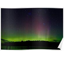Aurora Australis (#2), Trial Bay, Tasmania, 19 March 2015 Poster