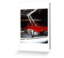 Buick Centurion at General Motors Motorama 1956 Greeting Card