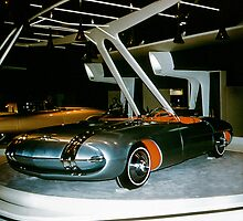 Pontiac Club de Mer at General Motors Motorama 1956 by haymelter