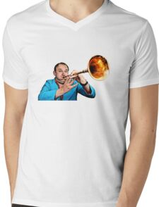 Tim Vine Trumpet Mens V-Neck T-Shirt