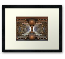 Arrival Of The Invaders Framed Print