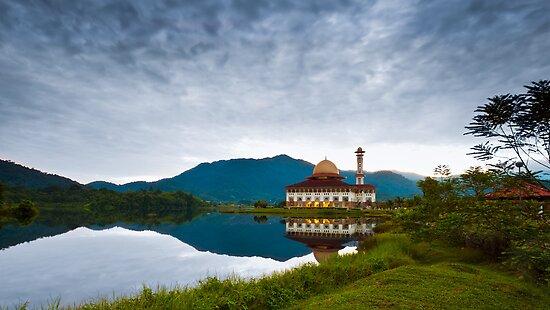 Darul Quran Mosque, Selangor, Malaysia by AbZahri AbAzizis
