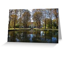 Fall in Royaumont Greeting Card