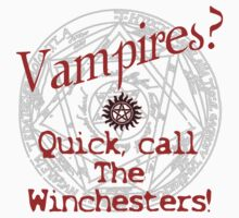 Vampires? Call The Winchesters! #2 by RubyFox