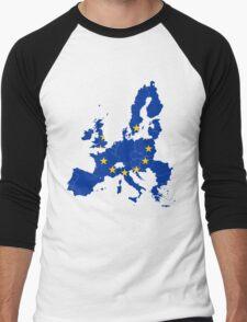 European Union Men's Baseball ¾ T-Shirt