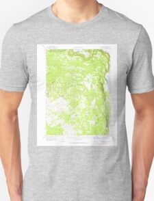 USGS Topo Map California South Mountain 301748 1962 62500 T-Shirt