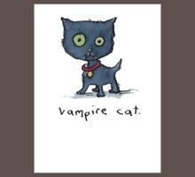 Vampire Cat One Piece - Short Sleeve