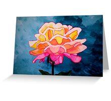 Sunrise Rose Greeting Card
