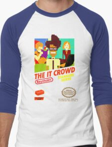 The IT Crowd NES game Men's Baseball ¾ T-Shirt