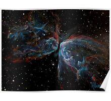 NGC 6302; Butterfly Nebula (Space Art) Poster