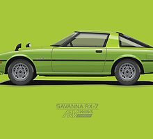Savanna RX-7 by ARVwerks