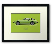 Savanna RX-7 Framed Print